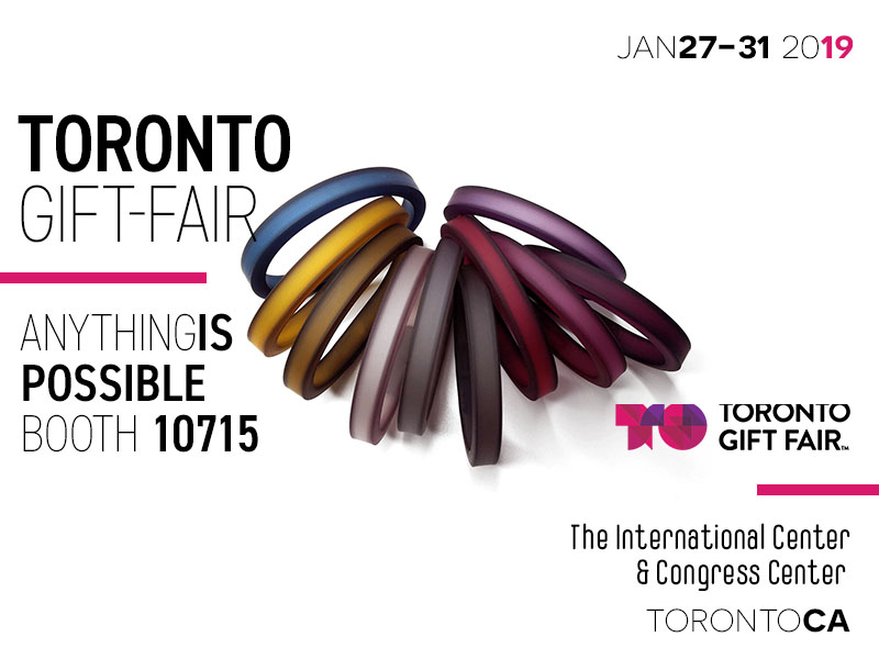 TGF - Toronto Gift Fair Anything Is Possible booth 10715