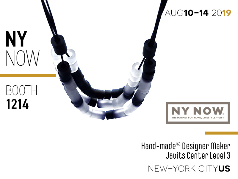 NY NOW - Handmade Designer Maker booth 1214 - Javits Center