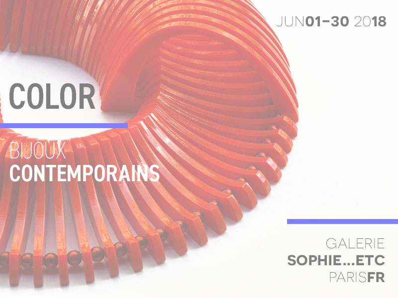 Galerie Sophie Etc - Color exhibition